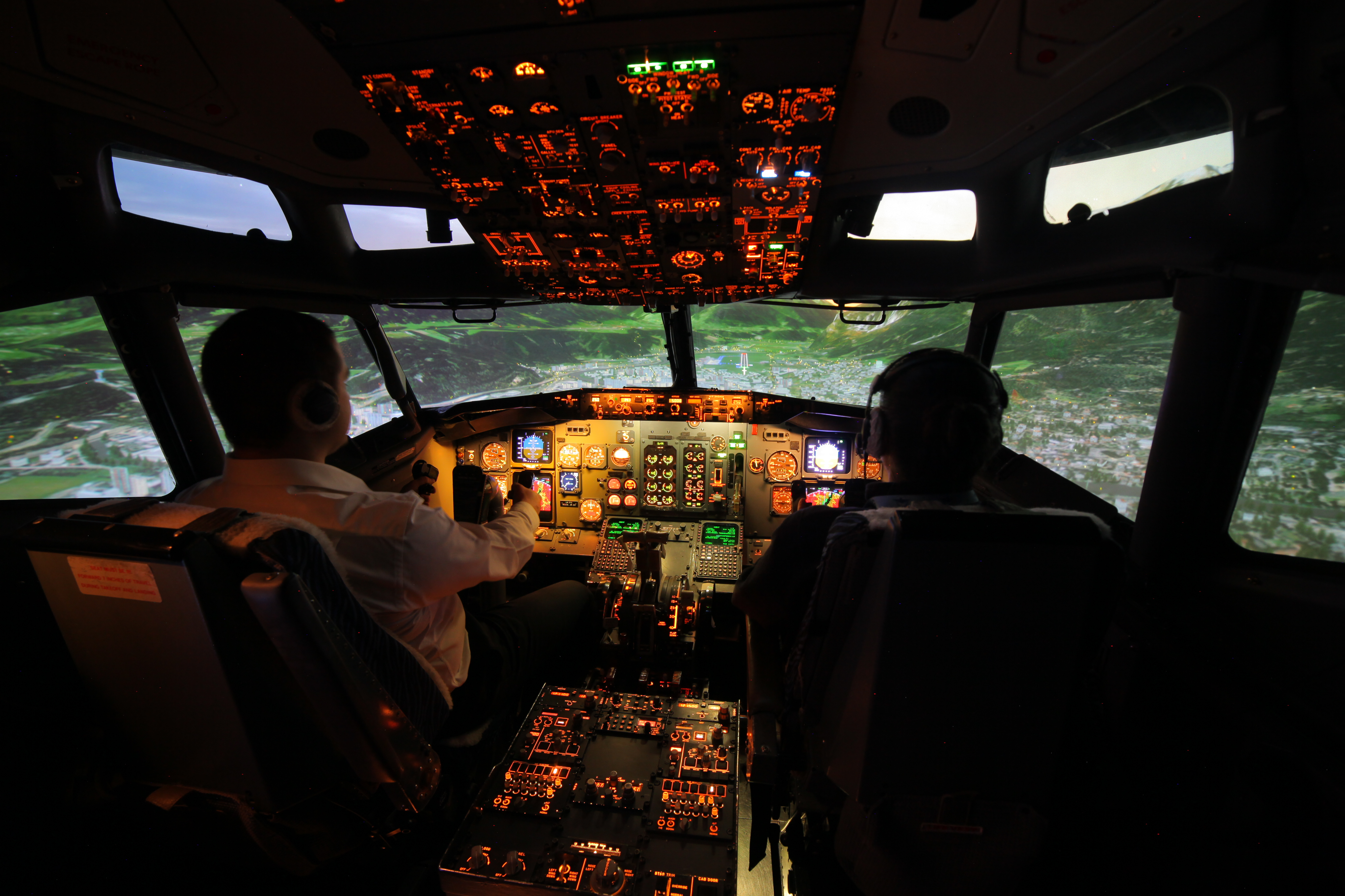 B737 Full Flight SImulator