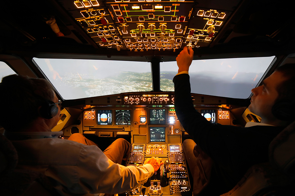 A320 Full Flight Simulator #2