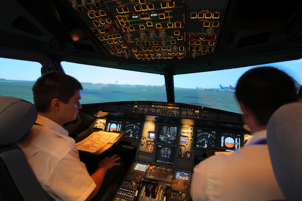 A320 Full Flight Simulator #1