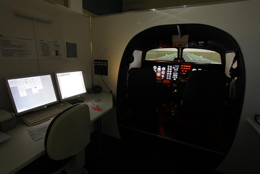 Flight and Navigation Procedure Trainer II MCC