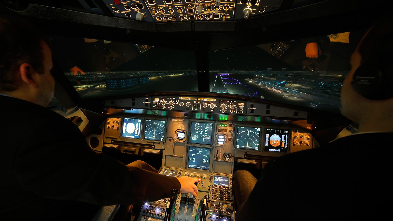 A320 Full Flight Simulator #2